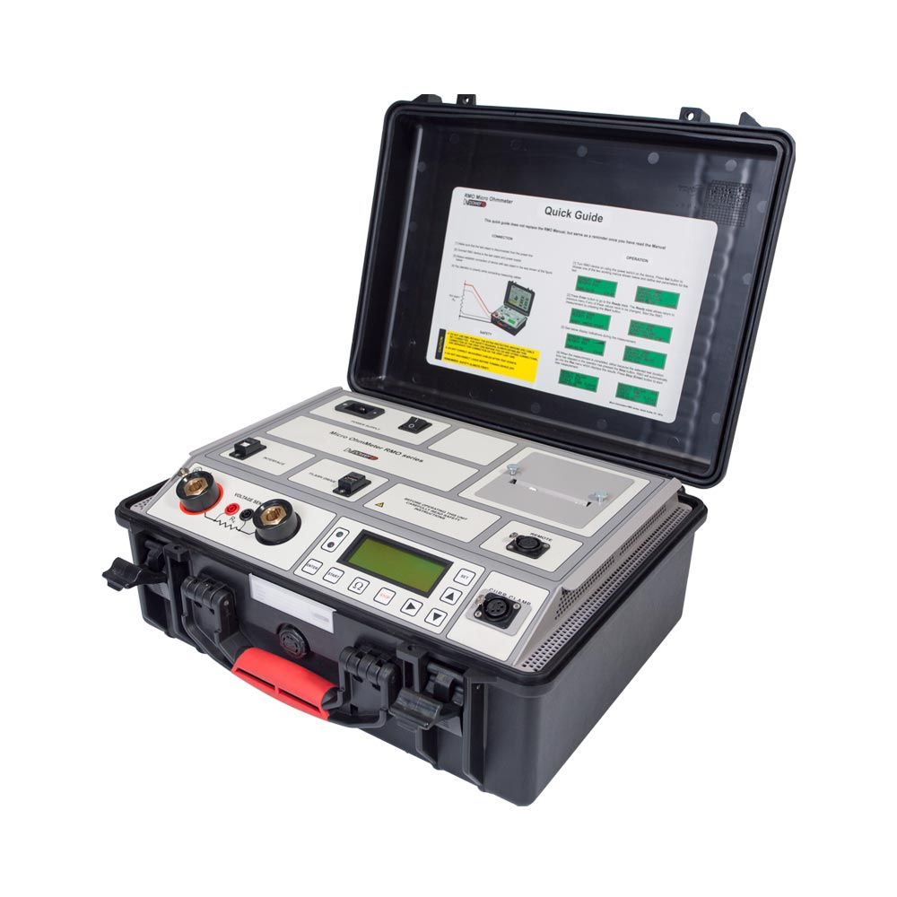 Safety Micro-ohmmeter RMO-G with Both Sides Grounded Feature