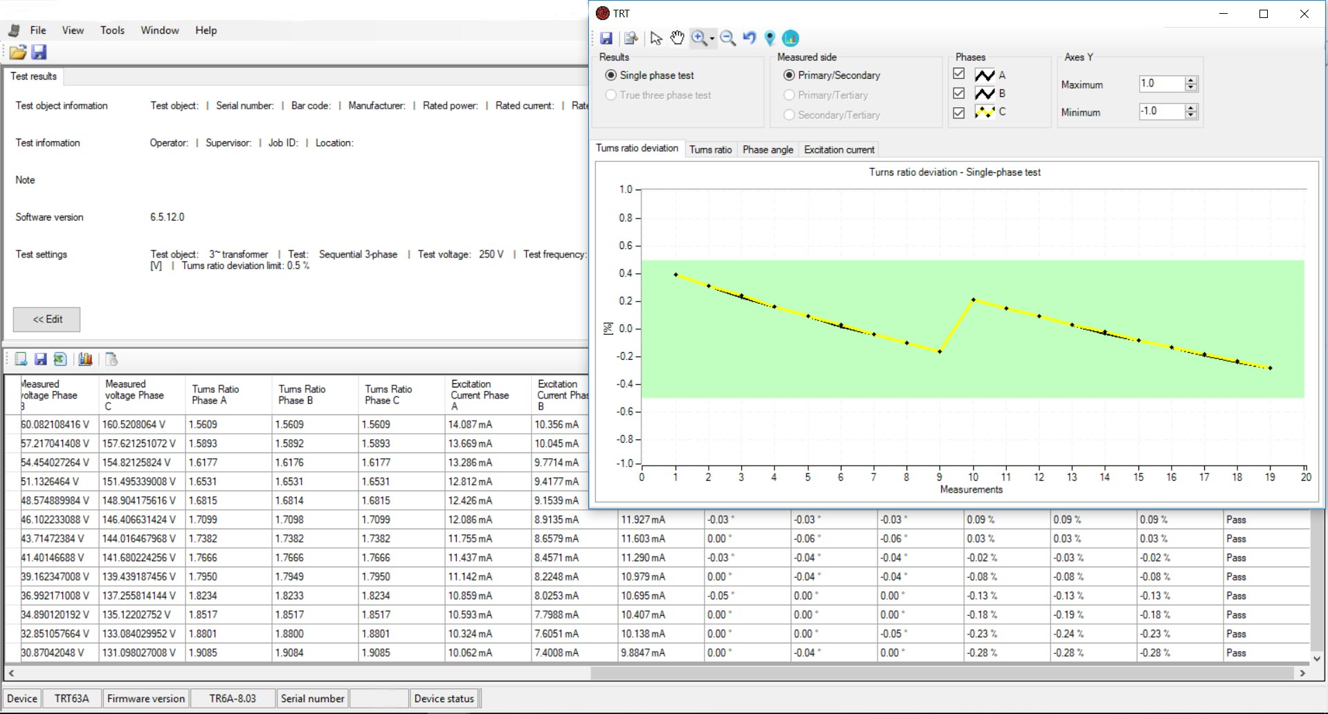 DV-Win Software for Faster and More Efficient Testing | DV Power