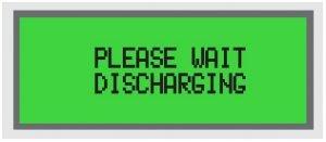 Discharge menu RMO-M