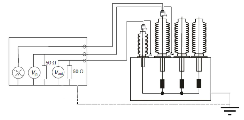 Frequency Response Measurement Circuit