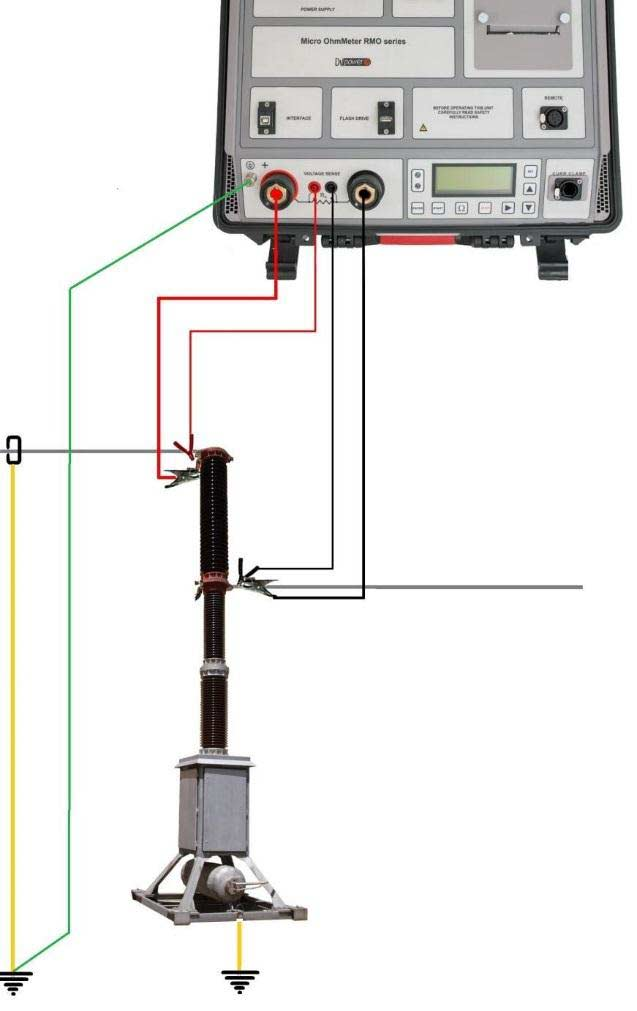 One Side Grounded Circuit Breaker